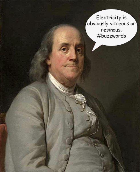 Ben Franklin, founding father and kite aficionado
